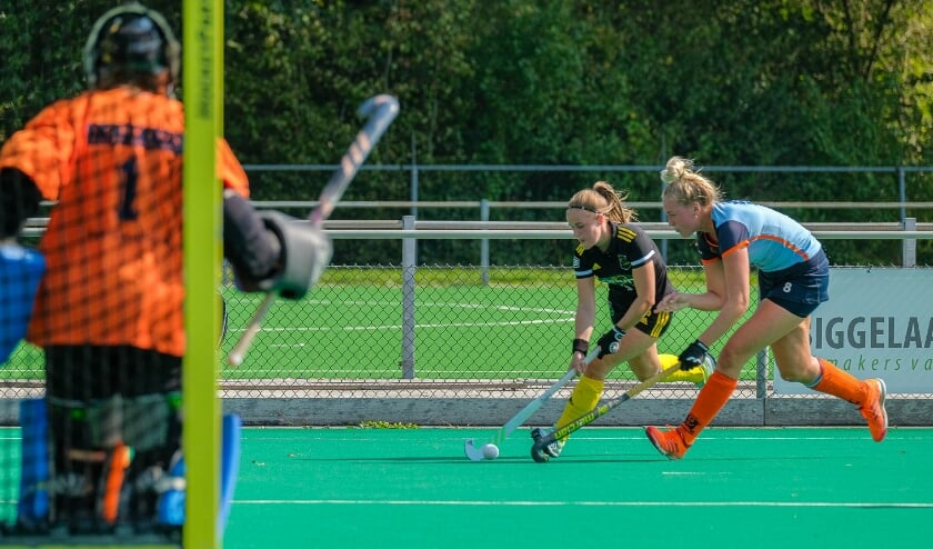 Geel-Zwart verliest eerste thuiswedstrijd van Rosmalen.