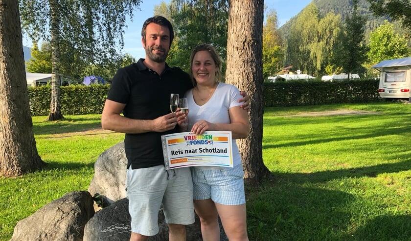 De hartenwens van Linda en Dennis uit Erp gaat in vervulling dankzij een aanvraag van Metakids bij het VriendenFonds van de VriendenLoterij.
