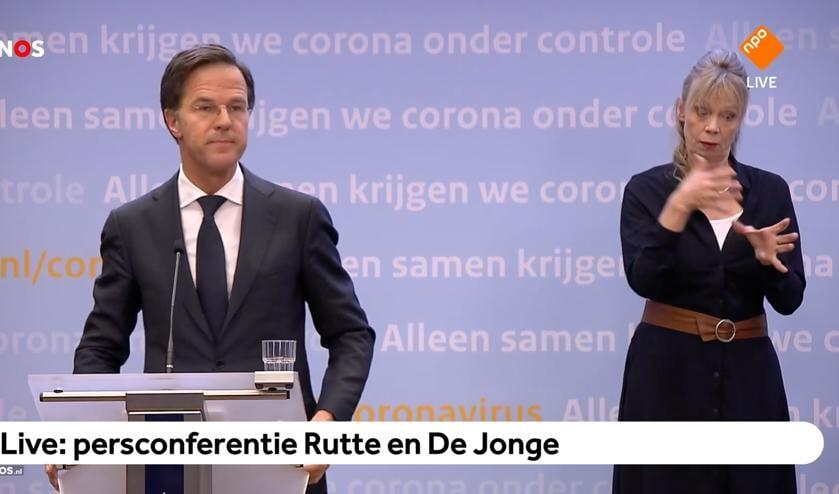 <p>Rutte had dinsdag geen goed nieuws.</p>