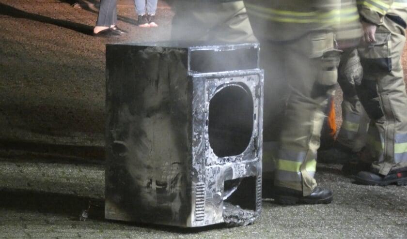 Brandweer in de Da Costastraat. (Foto: Thomas)