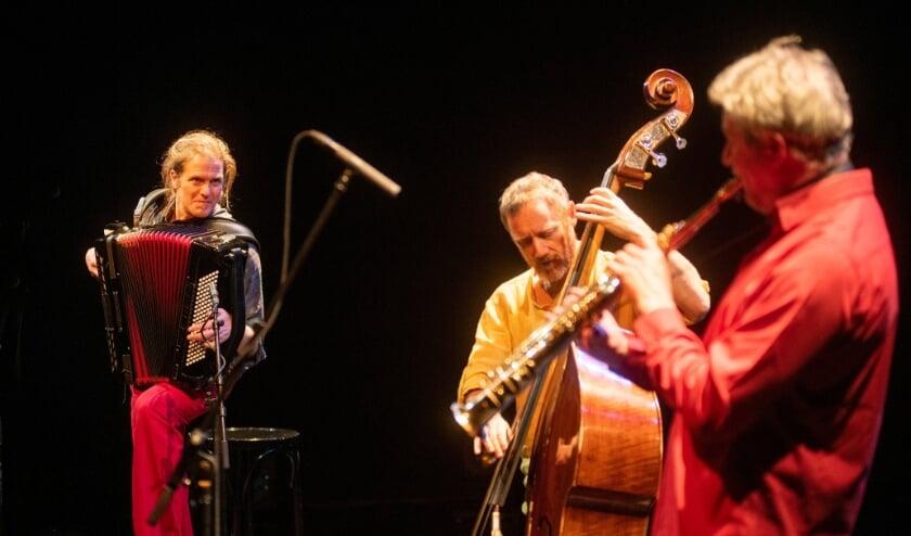 Tricycle opent serie jazzconcerten in De Lievekamp. (Foto: Alex Vanhee)