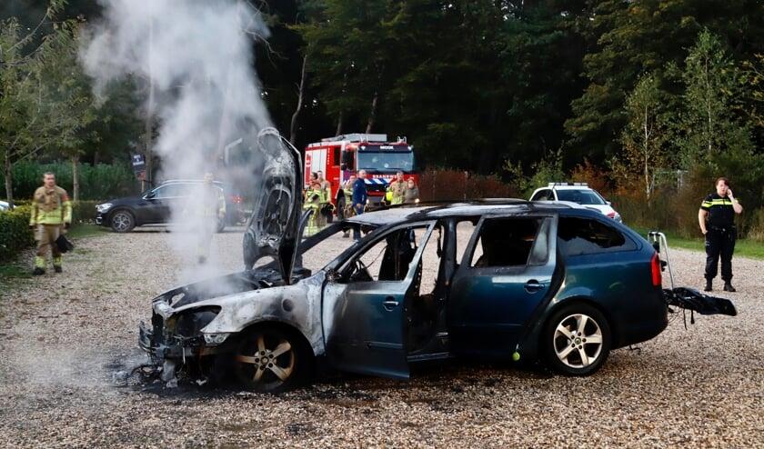 Een technische storing bleek de oorzaak van de vlammen.