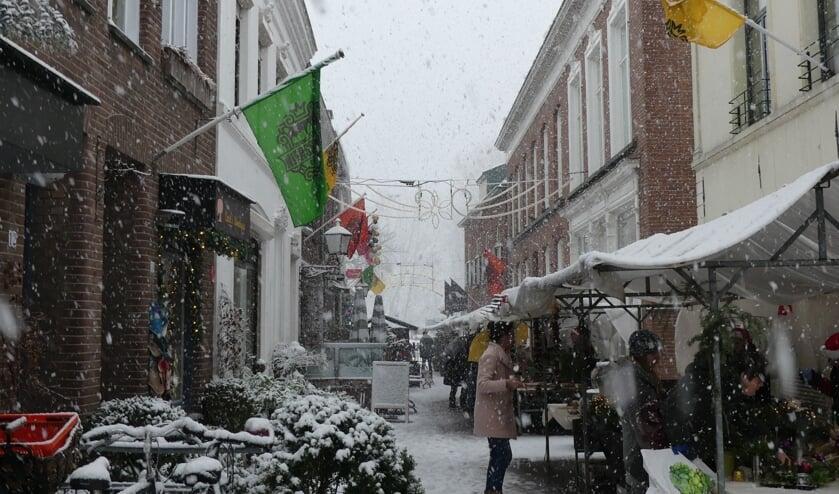 Hartje Gennep verkeert een weekend in kerstsfeer.