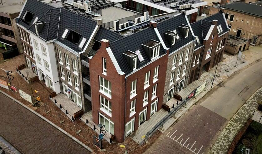 <p>Het nieuwbouwcomplex aan de Markt in Veghel.</p>