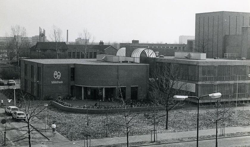 <p>Bibliotheek Oss aan de Raadhuislaan na verbouwing in 1984. (Collectie Stadsarchief Oss)</p>