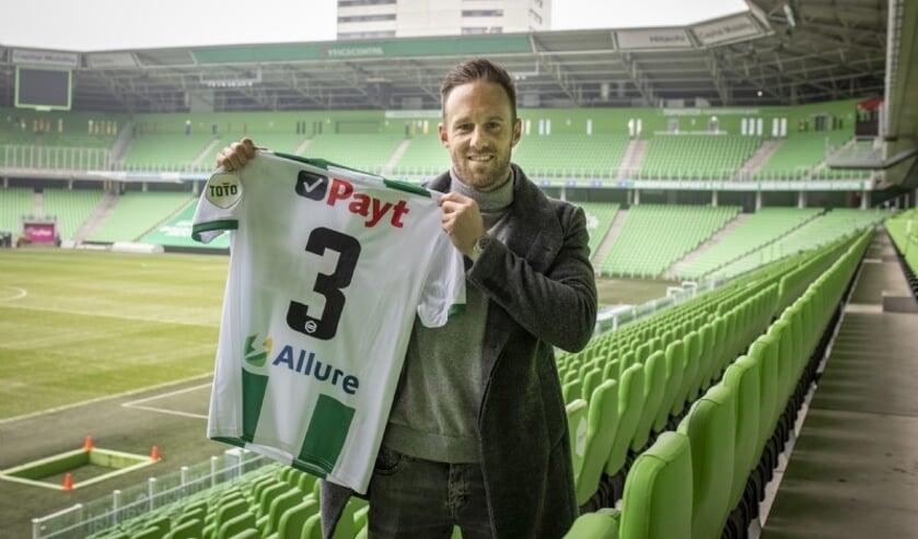 <p>Bart van Hintum. (Foto: website FC Groningen)</p>