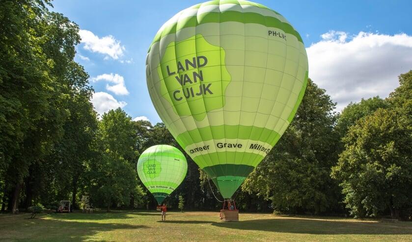 <p>Onder andere ballonvaarten behoorden tot de plannen van Mill draait door.</p>