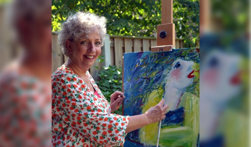 <p>Jacqueline zit boordevol creativiteit.</p>
