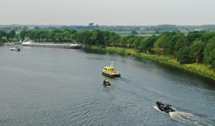 <p>Van Roermond tot Grave werd de Maas goed in de gaten gehouden.</p>