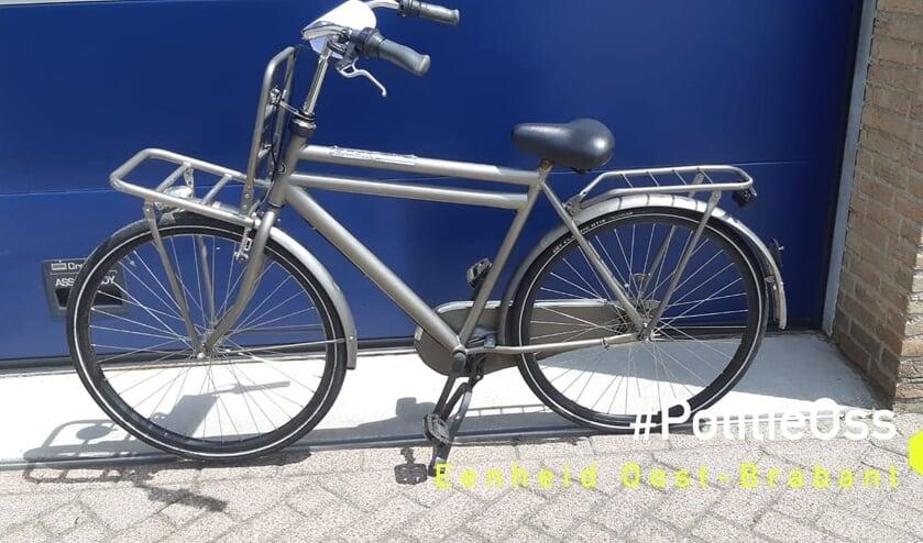 De fiets in Oss. (Foto: politie Oss)