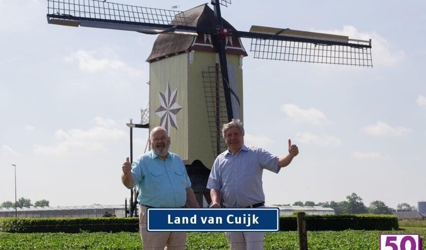 <p>Ger Konings en Dick Schouw zijn vastberaden het Land van Cuijk te veroveren.</p>