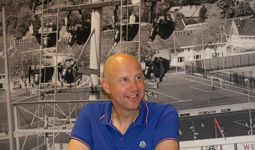 <p>Bob Peeters nieuwe trainer van TOP Oss.</p>