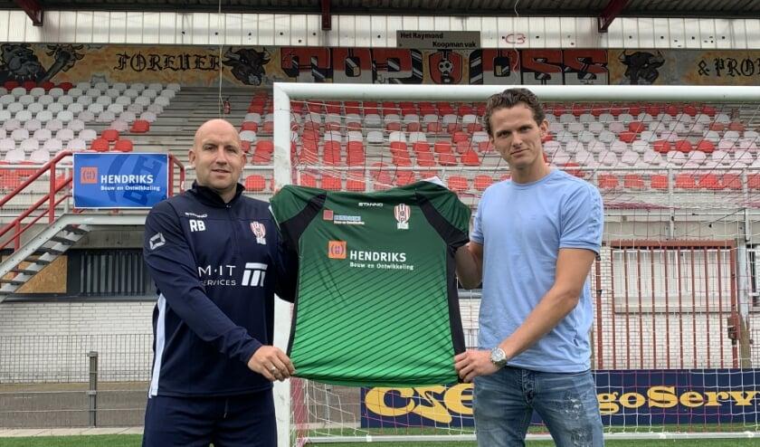 Ronnie Buitenkamp en Norbert Alblas. (Foto: TOP Oss)