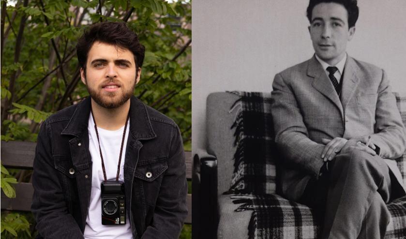 <p>Links op de foto Raúl, rechts op de foto zijn opa.</p>