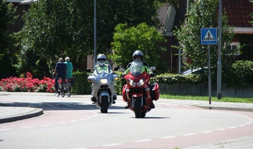 Deelnemers aan de tocht van MTC Berghem. (Foto: www.mtcberghem.nl)