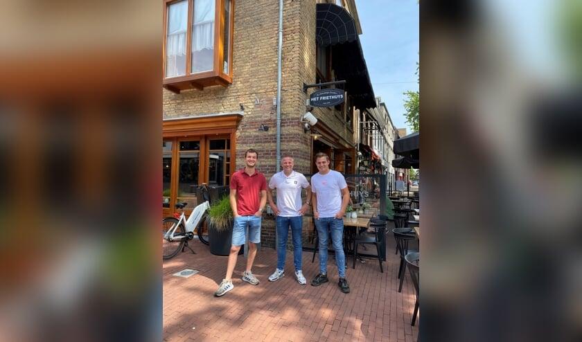 Bart Bernsen, Gert Jordaans en Luuk Vos.