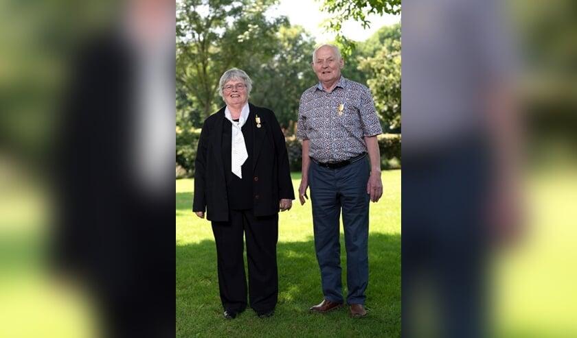 <p>Jomi Adriaans en Jan van Lieshout. (foto: Marian Sijben)</p>