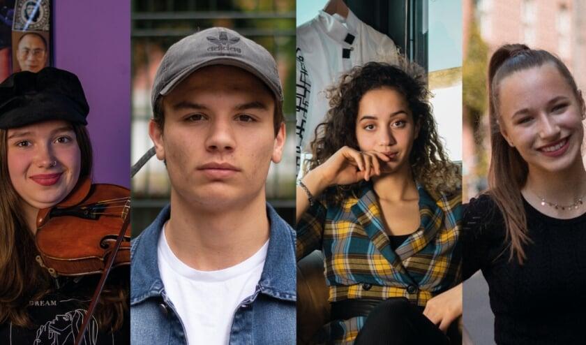 <p>Vier jongeren zijn de gezichten van de documentaire The Zer00&rsquo;s. Op de foto van links naar rechts Eva, Jesse, Aimee en Bridget.</p>