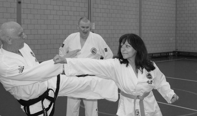 <p>Taekwondo, iets voor jou? (Foto: Piet Franken)</p>