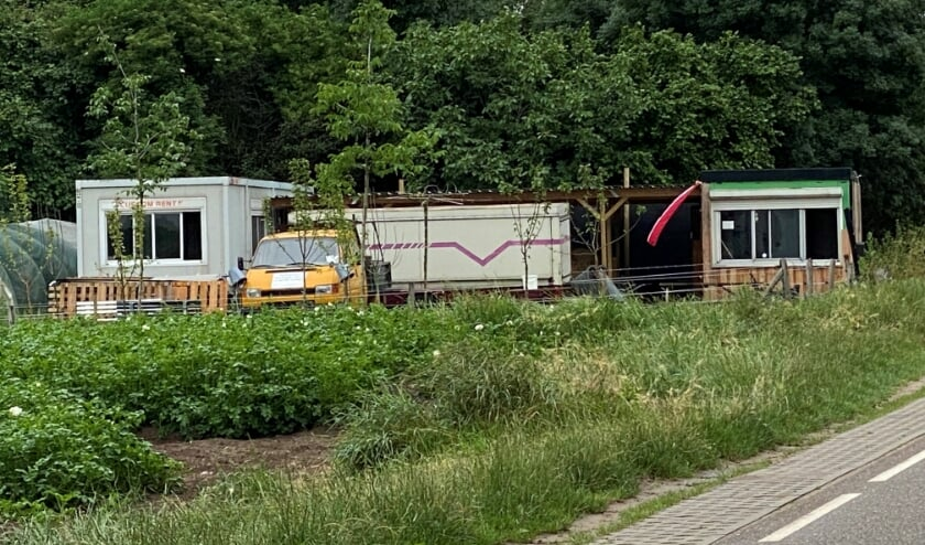 De gebouwen van de stadstuin aan de Goorseweg in Ottersum.