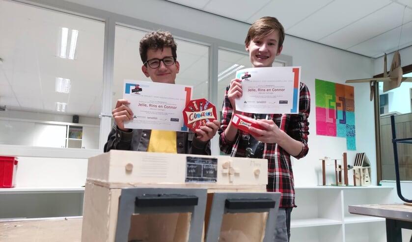 <p>Het Merletcollege feliciteert Jelle, Rins en Connor met hun welverdiende ereplek! </p>