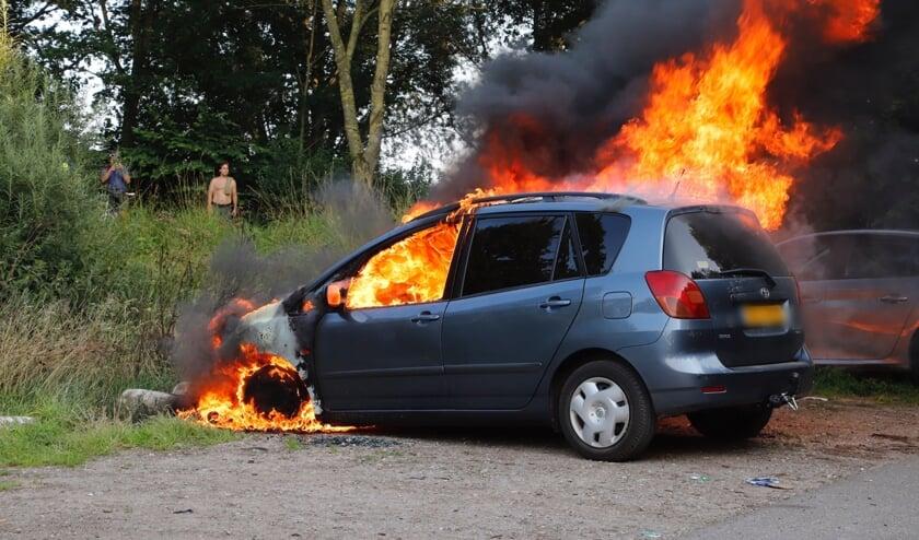 Het voertuig was slechts vier weken eigendom van de slachtoffers.