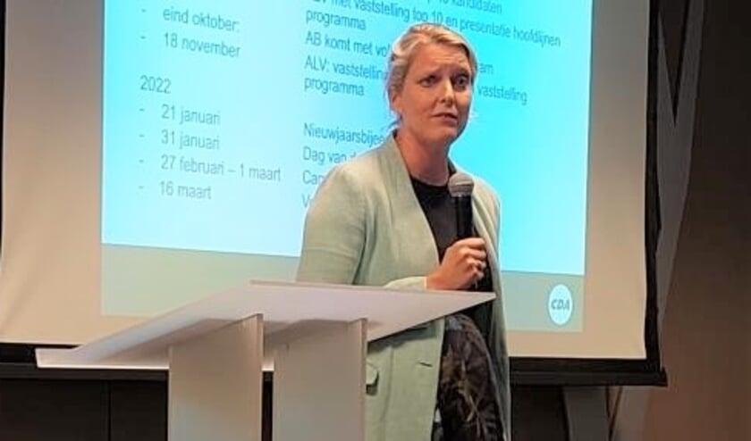 <p>Marianne van der Sloot is unaniem benoemd tot lijsttrekker van CDA Den Bosch voor de komende gemeenteraadsverkiezingen.</p>