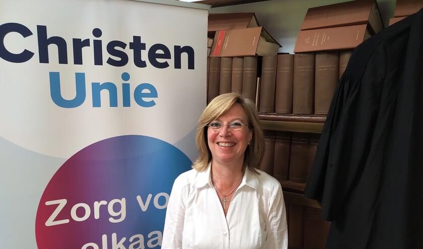 <p>Hetty Egger-van Oppen is lijsttrekker van de ChristenUnie in het Land van Cuijk.</p>