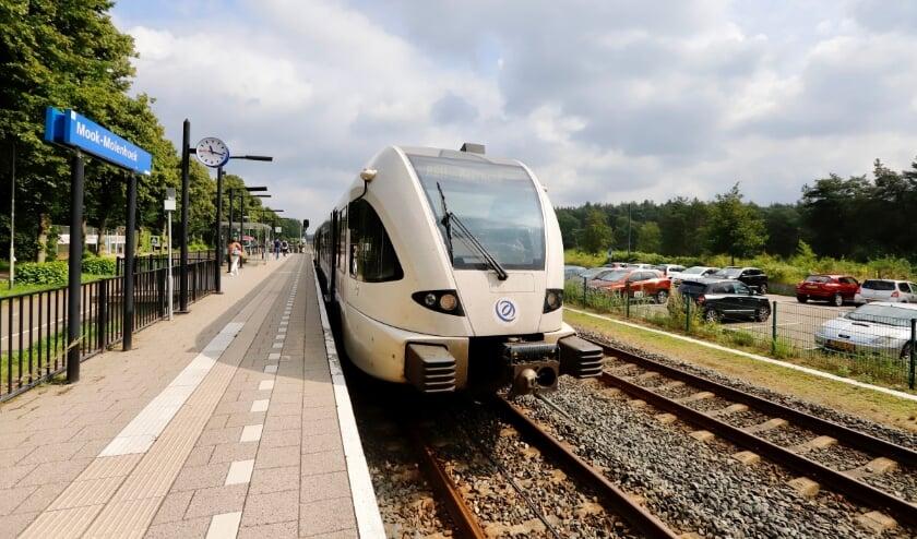 Het station Mook-Molenhoek