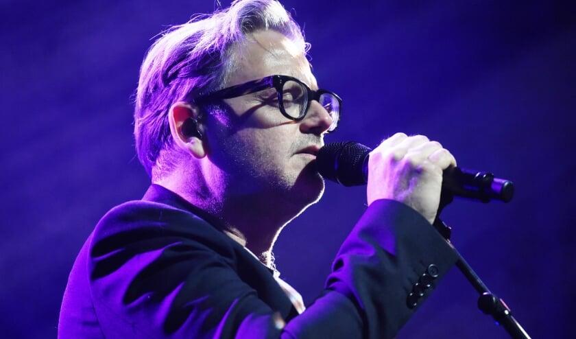 <p>Guus Meeuwis trakteerde het Bossche publiek op vrijdagavond op een onvergetelijk optreden.</p>