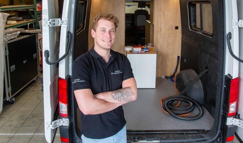 <p>Glenn de Vocht is eigenaar van DEVO Campervans.</p>