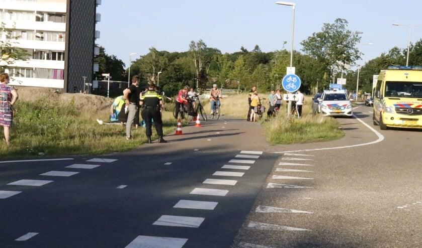 <p>De politie en ambulance rukten uit.</p>