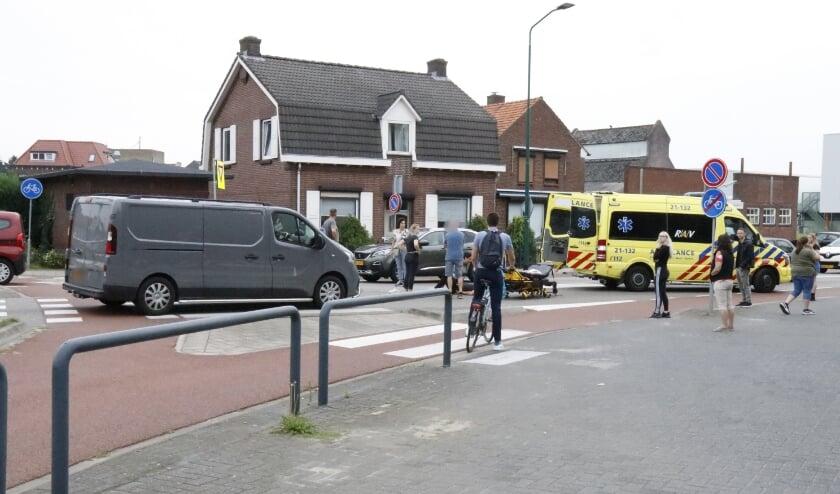 De fietser had voorrang.