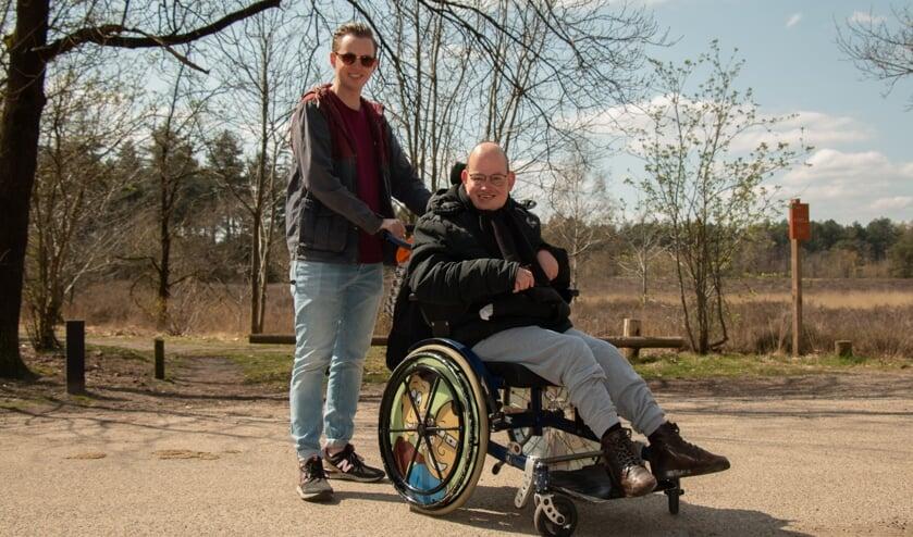 Bosschenaar Camiel Derkx en zijn drie jaar oudere broer Jordy gaan regelmatig samen op pad.
