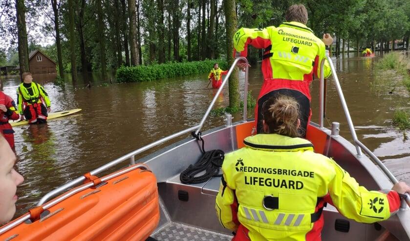 <p>Reddings Brigade Uden en Veghel waren van donderdag tot en met zondag aanwezig in Limburg.</p>