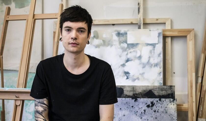 Benjamin Schoones krijgt als eerste de opdracht tot het vervaardigen van een kunstwerk voor het LiedDuo Concours 2021 van het IVC.
