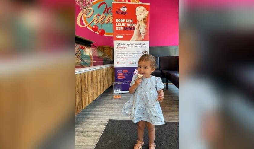 Tot 19 juli kun je bij La Vittoria in Rosmalen bij aankoop van een ijsje een extra ijsje kopen.