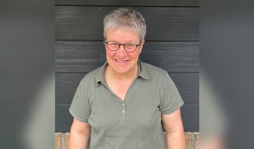 <p>Gerdi Lamers, melkveehoudster in Beugen</p>