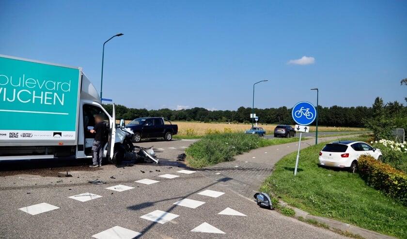 Geen van de betrokkenen is bij het incident gewond geraakt.