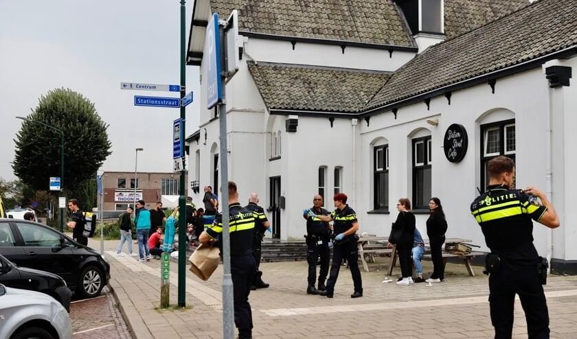 <p>De politie doet onderzoek naar het incident.</p>