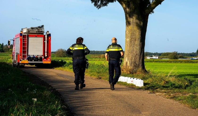 Vaten drugsafval gevonden in Berghem en Megen. (Foto: Gabor Heeres, Foto Mallo)