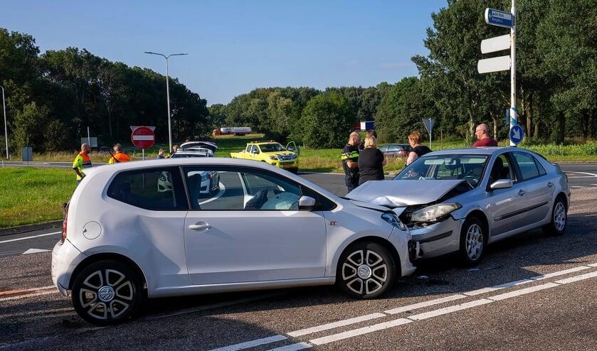 Ongeval in Ravenstein. (Foto: Gabor Heeres, Foto Mallo)