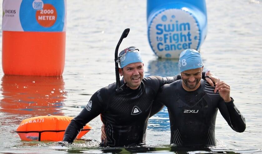 <p>Nooit eerder in de historie van Swim to Fight Cancer - een landelijk initiatief - was de opbrengst per deelnemer zo hoog als afgelopen zondag in Vught. </p>