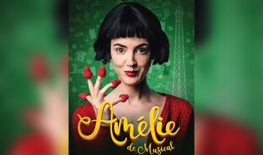 Tijdens 'Amélie de Musical' droom je weg op de avonturen van de dromerige Amélie. Op vrijdag 27 en zaterdag 28 november is deze musical in Den Bosch te zien. (Foto: Annemieke van der Togt/Jack Waas)