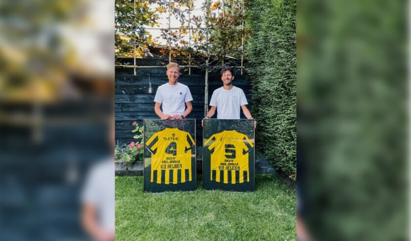 Nicky en Wessel van der Heijden.
