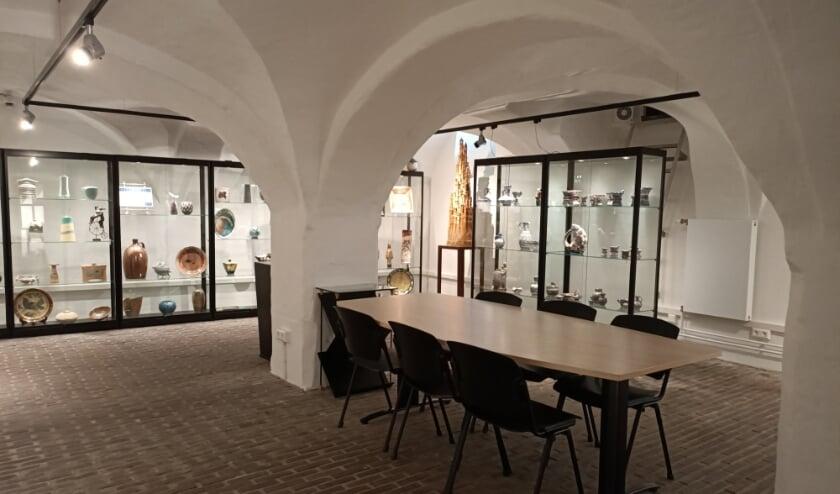 De kelder van Het Petershuis is fraai gerestaureerd.