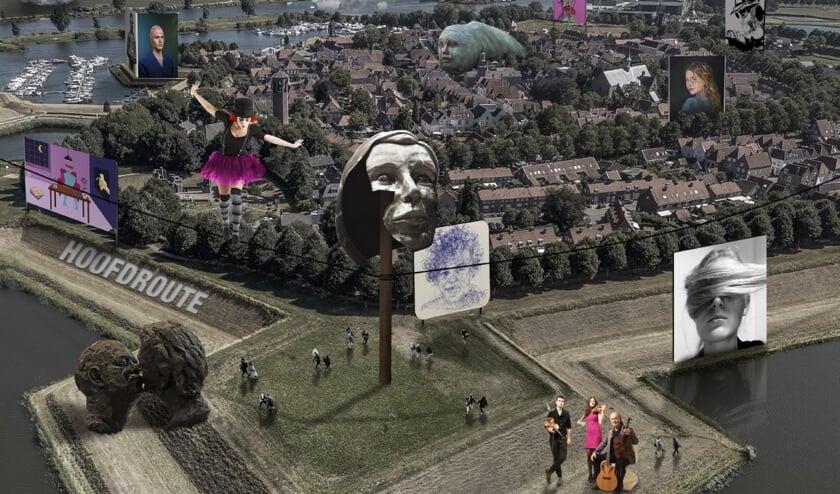 <p>De Vesting Heusden staat aanstaande zaterdag en zondag in het teken van Art Festival Heusden 2021.</p>