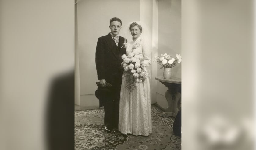 Koos en Dien van Lankveld zijn 65 jaar getrouwd.