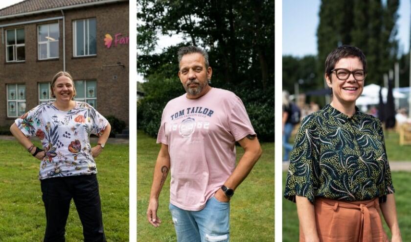 <p>De drie genomineerden met van links naar rechts Carlijn van Beers, Paul van Gellecom en Coralie den Adel van Theaterfestival Boulevard.&nbsp;</p>