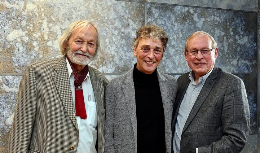 <p>Cor Swanenberg, Riny Boeijen en Henk Janssen.</p>